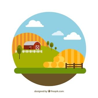 Landskape fazenda design plano