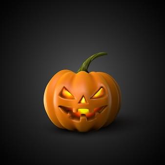 Lanterna de abóbora de halloween