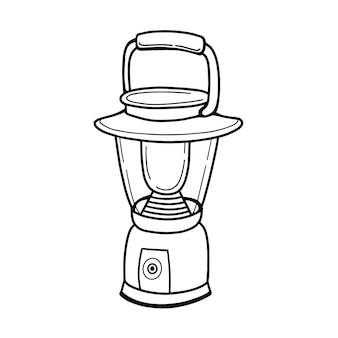 Lanterna de acampamento portátil