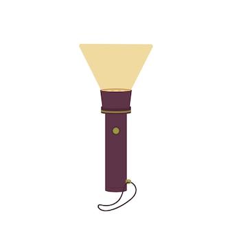Lanterna de bolso pessoal. artigo de turismo para iluminação