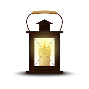 Lanterna vintage. decoração, decoração