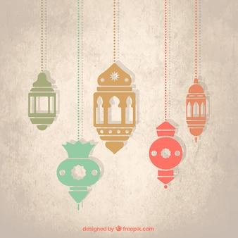 Lanternas árabes