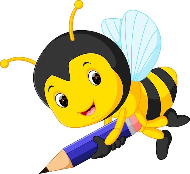 Lápis de exploração de abelha