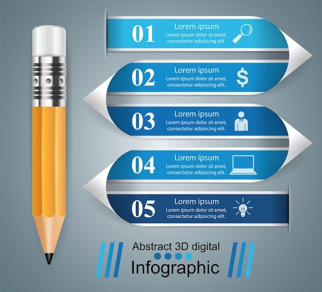 Lápis, ícone da educação