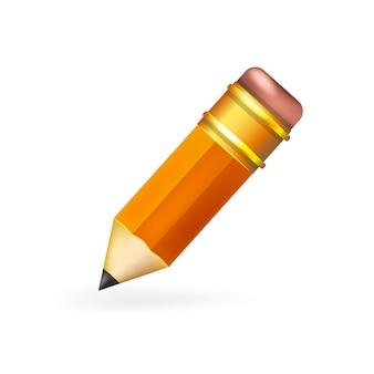 Lápis para decoração o primeiro de setembro, escola, lições