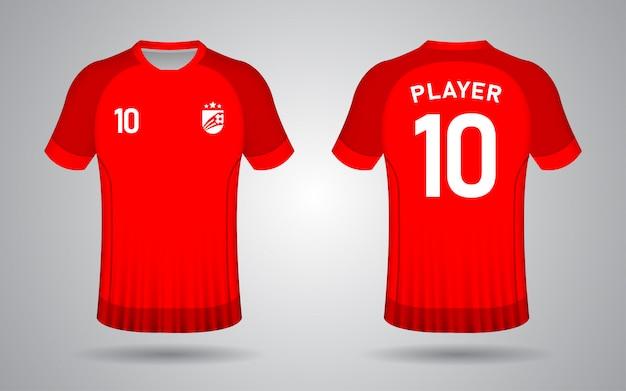 Laranja de modelo de camisa de futebol