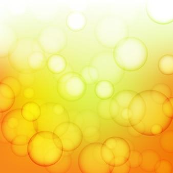 Laranja e amarelo, fundo brilhante
