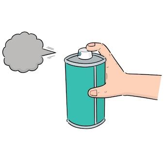 Lata de spray
