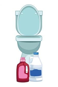 Lavagem de roupa e acessórios de limpeza