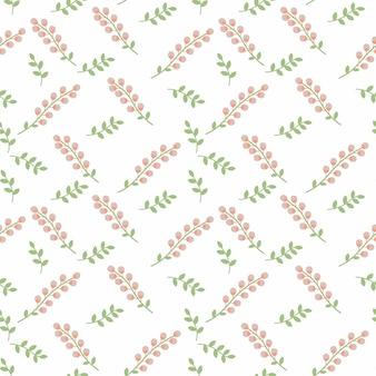 Lavendar rosa decorar padrão sem costura de fundo
