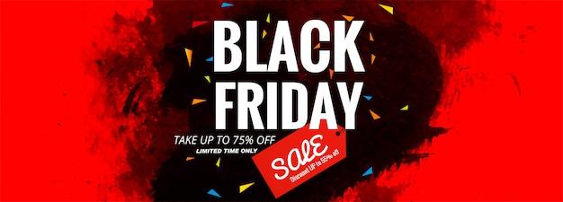 Layout de banner de venda sexta-feira preta