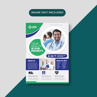 Layout de folheto médico