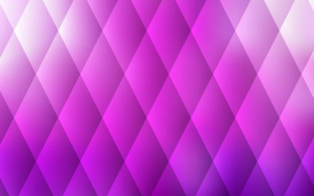 Layout de luz rosa vetor com linhas, retângulos.