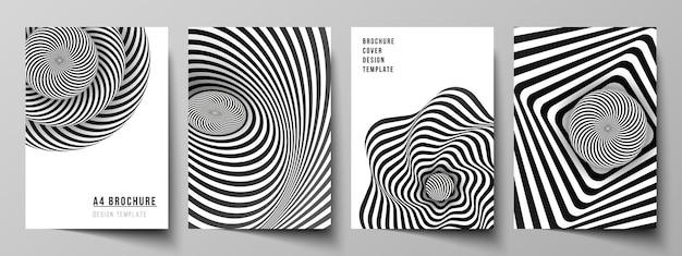 Layout de modelos de design de capa