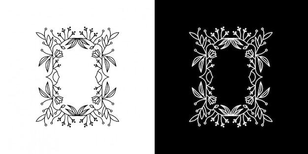Leaf frame monoline
