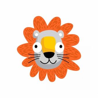 Leão - animal fofo