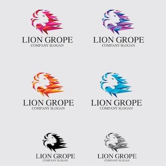 Leão apalpar