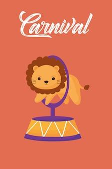 Leão de circo