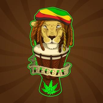 Leão reggae