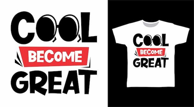 Legal torna-se um ótimo conceito de camiseta de tipografia
