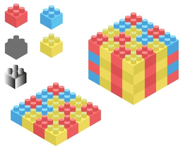 Lego isométrico