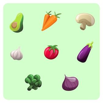 Legumes de vetor