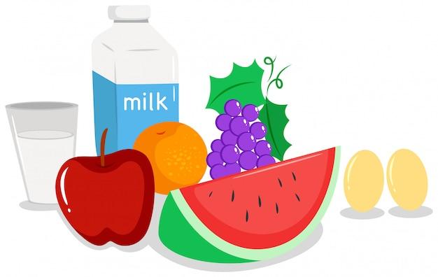Legumes e comida saudável