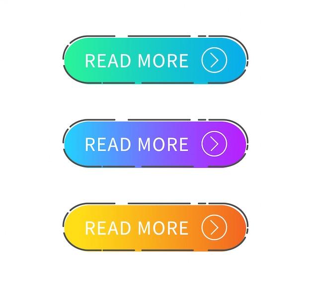 Leia o botão mais.