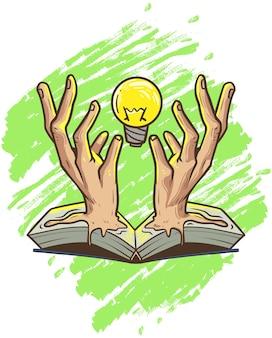 Leia um feitiço para ter ideias