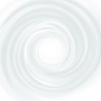 Leite branco, iogurte, creme redemoinho de produtos cosméticos