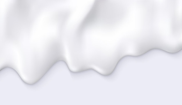 Leite cremoso branco pinga fundo abstrato