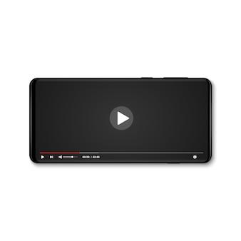 Leitor de vídeo para celular