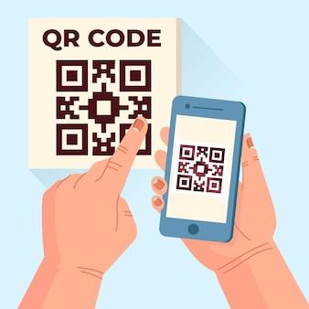 Leitura de código qr em smartphone