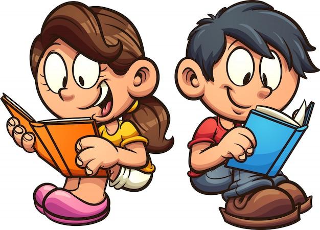 Leitura de crianças