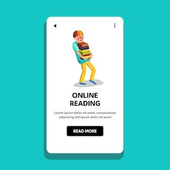 Leitura online e-book biblioteca educação