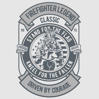 Lenda do lutador de fogo