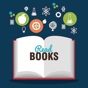 Lendo livros design