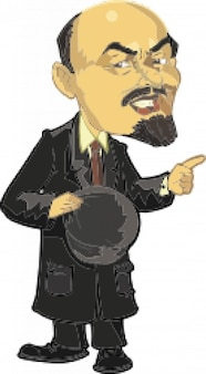 Lenin caricatura 2