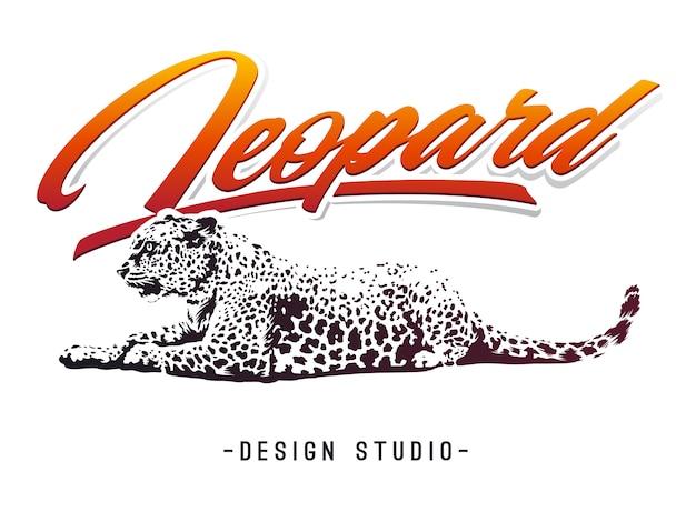 Leopard design