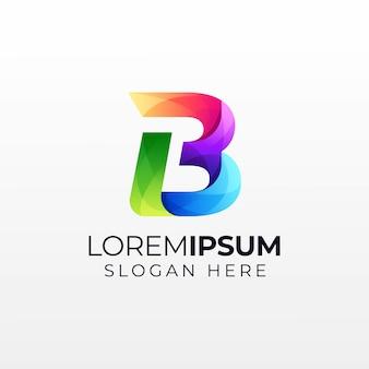 Letra b logotipo