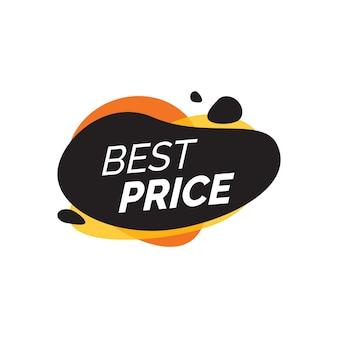 Letra de melhores preços em blots de pintura