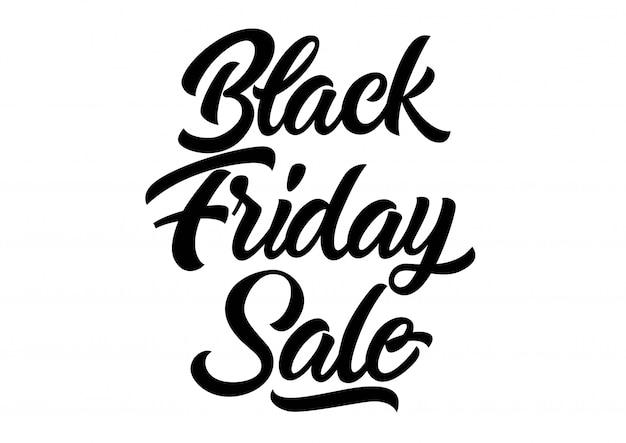 Letra de venda de sexta feira negra