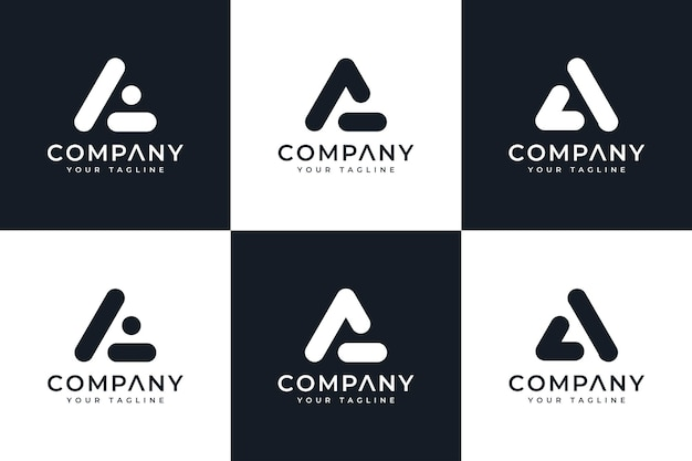 Letra e no design de logotipo criativo do círculo e modelo de cartão de visita premium vector