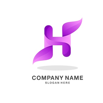 Letra h logotipo