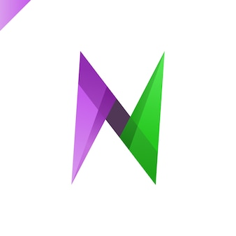 Letra n logo