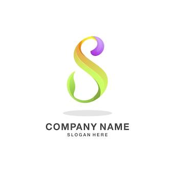 Letra s logotipo