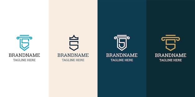 Letra s modelo de design do ícone de logotipo inicial. elegante, moderno, luxuoso.