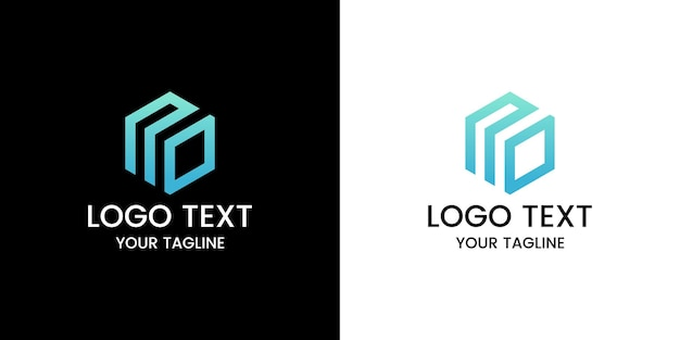 Letra sem design de logotipo