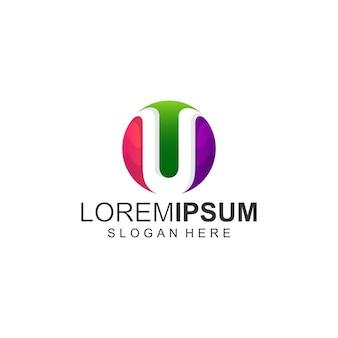 Letra u logo