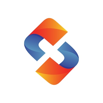 Letra x logotipo